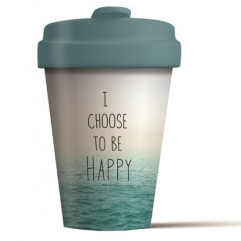 BAMBOO CUP CHOOSE HAPPY - (BCP250)