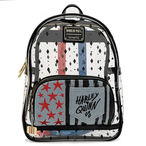 Loungefly - DC Birds of Prey - Harley Quinn Mini Backpack