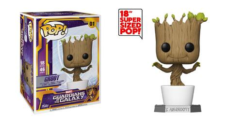 POP! Marvel: Guardians of the Galaxy - Groot - Supersized Bobble-Head (45cm) #01#