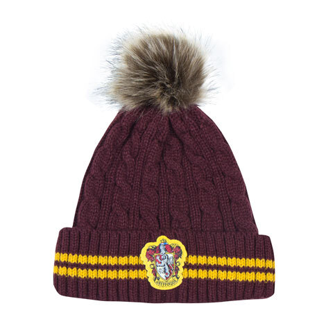 Harry Potter Gryffindor - purple/gold Beanie - CR1331