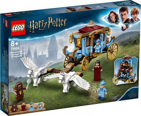 Harry Potter Beauxbatons' Carriage:Arrival At Hogwarts - 75958