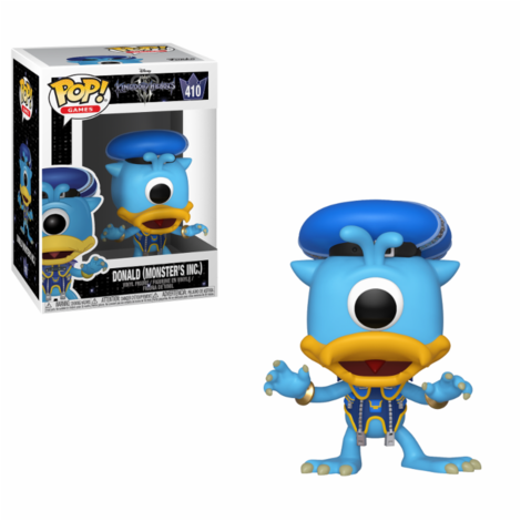 POP! Φιγούρα Vinyl Donald (Monster's Inc.) (Kingdom Hearts) #410 – Funko 34059