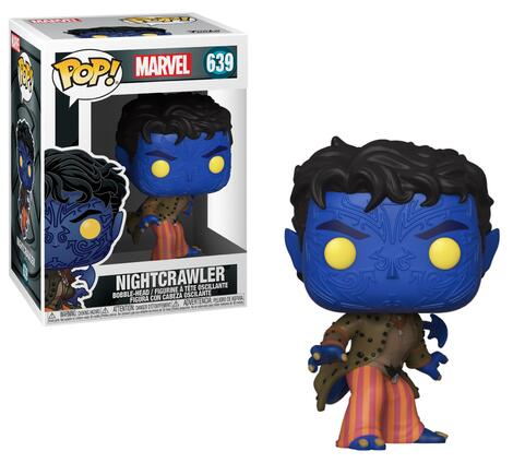 POP! Marvel: X-Men 20th Anniversary - Nightcrawler Bobble-Head #639#