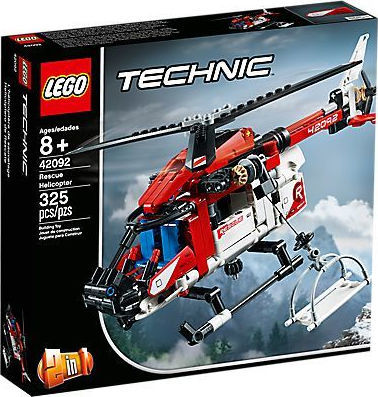 Technic Ελικόπτερο Διάσωσης - Rescue Helicopter - 42092