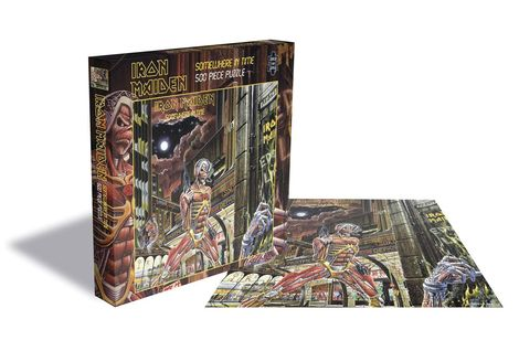 Iron Maiden Puzzle Somewhere in Time 500pcs - PHRSAW003PZ