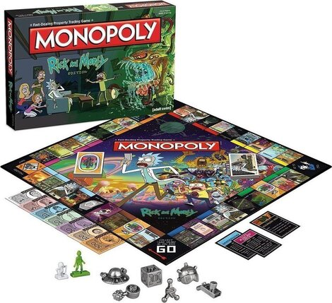 Monopoly Rick and Morty - WIMO-002701