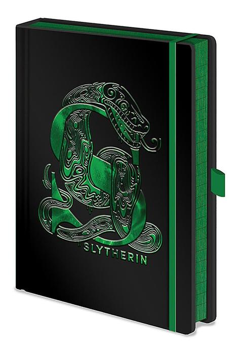 Harry Potter (Slytherin Foil) - A5 Notebook