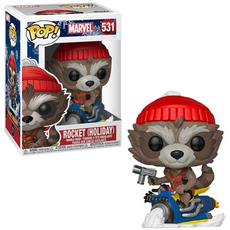 POP! Φιγούρα Vinyl Rocket Marvel Holiday #531#