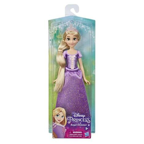 Disney Princess Royal Shimmer Rapunzel - F0896