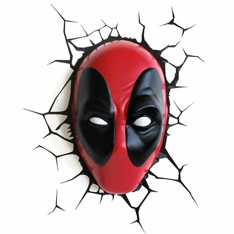 Φωτιστικό Marvel 3D LED Light Deadpool 3DL62267