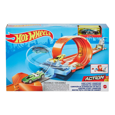 Hot Wheels Action Champion Looping Set Με Drift Car And Ramp - GTV13