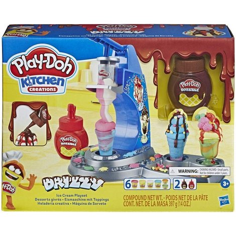 Play-Doh Kitchen Creations Drizzy Ice Cream Playset - E6688