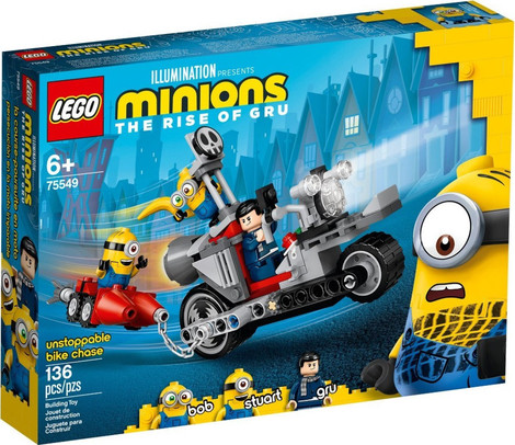 Minions Unstoppable Bike Chase - 75549