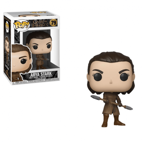 POP! Φιγούρα Vinyl Arya with Two Headed Spear - Game of Thrones #79#