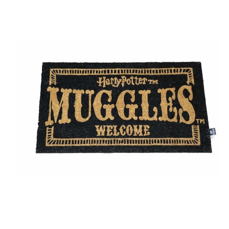Harry Potter Doormat Muggles Welcome 43 x 72 cm - SDTWRN22194