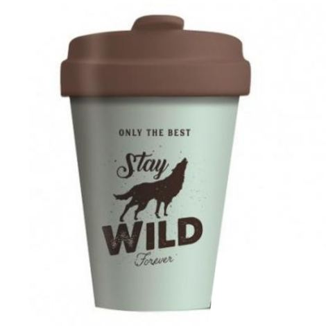 BAMBOO CUP STAY WILD - (BCP277)
