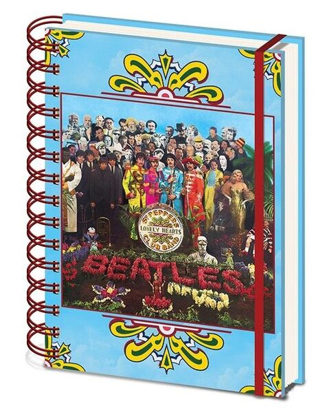 The Beatles (SGT. Pepper's Lonely Hearts) A5 Νotebook - SR72596
