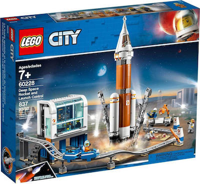 City Space Deep Space Rocket And Launch Control - 60228