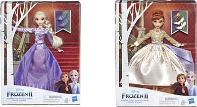 Disney Frozen II Deluxe Fashion-2 Σχέδια - E5499