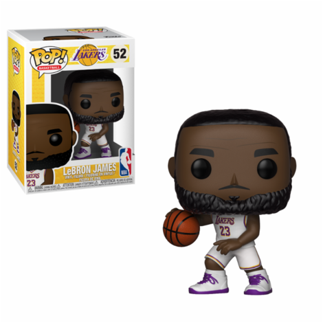 POP! Φιγούρα Vinyl Lebron James (White Uniform) NBA Lakers  #52#