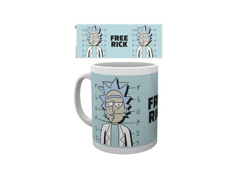 Rick and Morty κούπα free Rick (GYE-MG2492)
