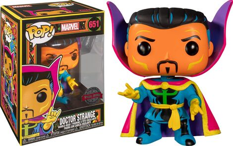 POP! Φιγούρα Vinyl Dr Strange Black Light Exclusive #651