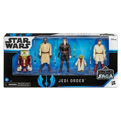 Star Wars Celebrate the Saga Action Figures 5-Pack The Jedi Order 10 cm - F1413