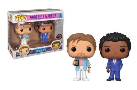 POP! Miami Vice - Crockett and Tubbs 2-Pack Figures (Exclusive)