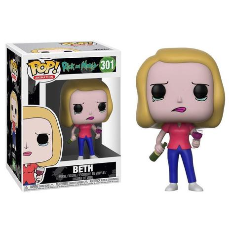 POP! Φιγούρα Beth with Wine Glass (Rick and Morty) #301