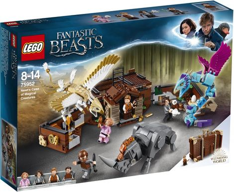 LEGO Harry Potter Newt's Case Of Magical Creatures - 75952