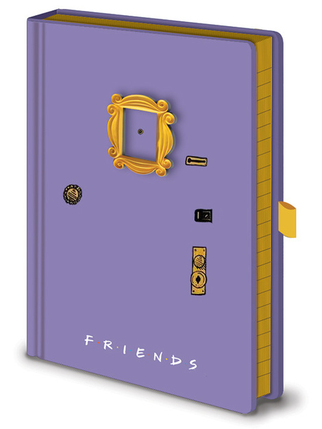 Friends (Frame)  Premium A5 Notebook - SR72939