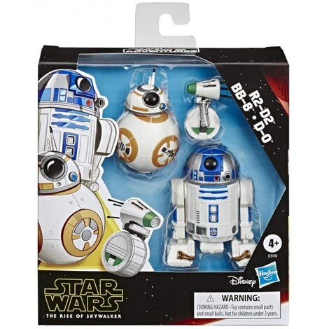 Star Wars The Rise Of Skywalker R2-D2, Bb-8, D-O 3 Φιγούρες - E3118