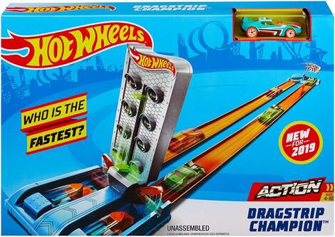 Hot Wheels Αγωνιστική Πίστα Dragstrip Champion - GBF82
