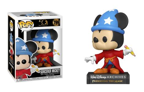 POP! Disney: Archives - Sorcerer Mickey #799#