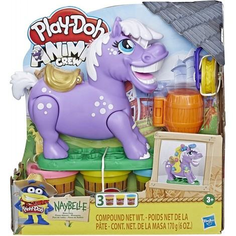 Play-Doh Animal Crew Naybelle Show Pony - E6726
