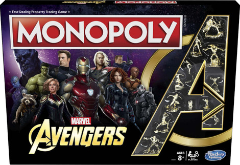 Monopoly Avengers Board Game  - HASE6504