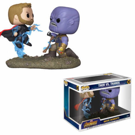 Pop! Φιγούρα Vinyl Movie Moments Thor vs Thanos (Marvel) #707#