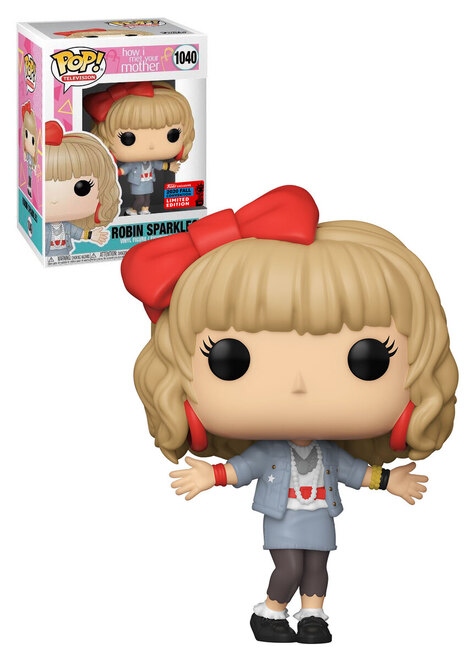 Pop! TV How I Met Your Mother Robin Sparkles Exclusive 2020 Fall Convention #1040#
