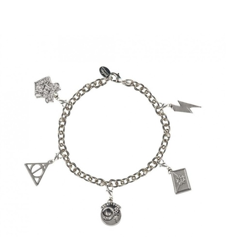 Charm Bracelet with 5 charms - Harry Potter - CR3105