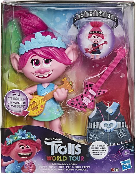 Trolls Pop To Rock Poppy - E9411