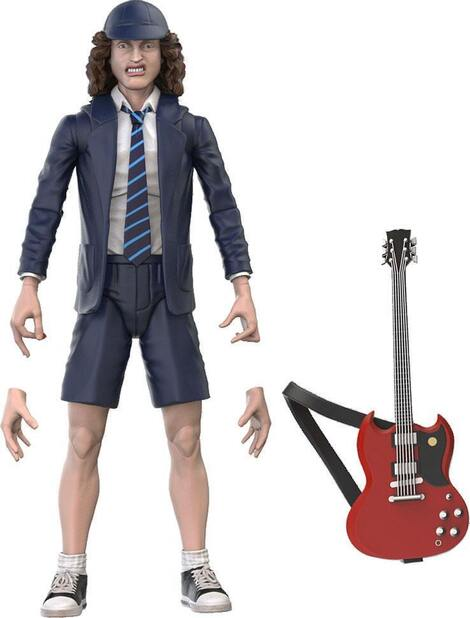 AC/DC BST AXN Action Figure Angus Young 13 cm -  TLSBAACDANGWB01