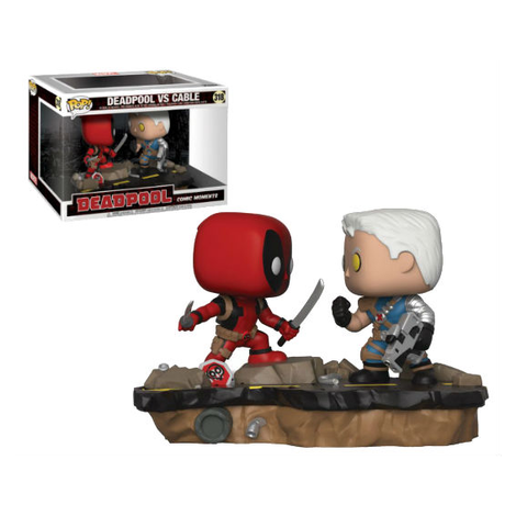 POP! Φιγούρα Vinyl Movie Moments Captain Deadpool & Cable (Marvel) #318#