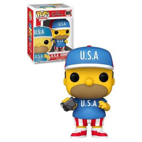 POP! The Simpsons - USA Homer #905#