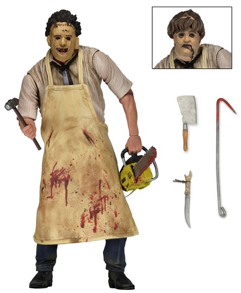 Φιγούρα 18 εκ Ultimate Leatherface (Texas Chainsaw Massacre 1974)  - NEC39748