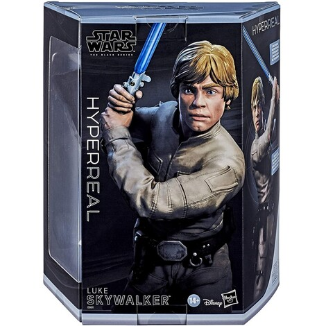 Star Wars Episode V Black Series Hyperreal Action Figure Luke Skywalker 20 cm - E6611