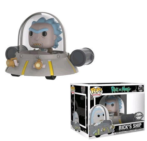 POP! Φιγούρα Vinyl Rick's Ship (Space Cruiser) #34 – Funko 23811