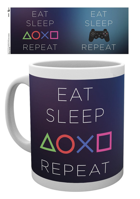 Playstation Κούπα -  Eat - Sleep - Repeat