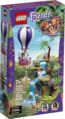 Friends Tiger Hot Air Balloon Jungle Rescue - 41423