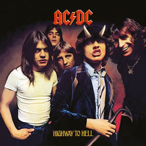 AC/DC Framed Canvas Print Highway To Hell 40 x 40 cm - DC95981C