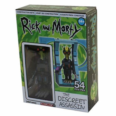 Rick and Morty κατασκευή Micro Kit Wave 1 - (MCF12850-5)